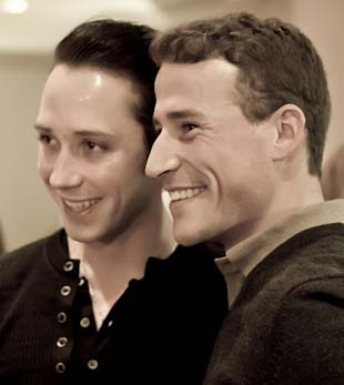 johnny weir and huband divorce 2014