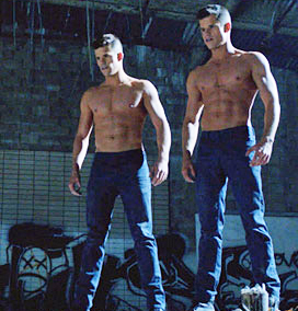 carver brothers shirtless gay