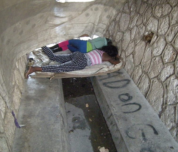 jamaica-sewers-as-shelter-LGBT gay youth