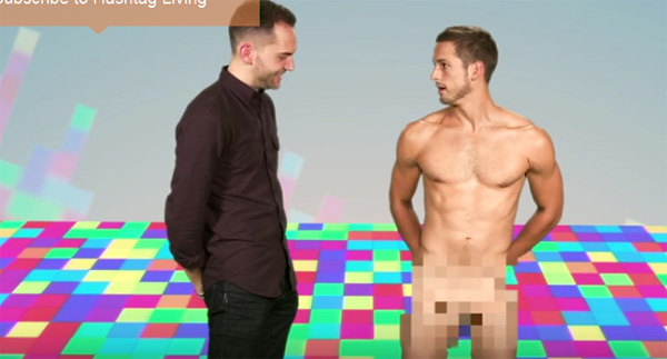 Actor and underwear model max emerson gets naked on instagram