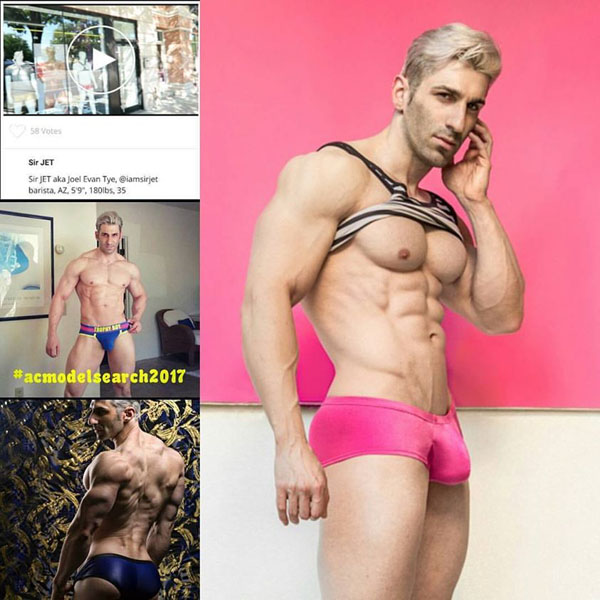 Andrew Christian Model Contest Sir Jet